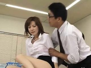 HD Asians tube Secretary